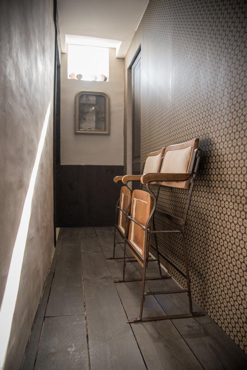 strapontin vintage coussin pour banquette ext rieure. Black Bedroom Furniture Sets. Home Design Ideas